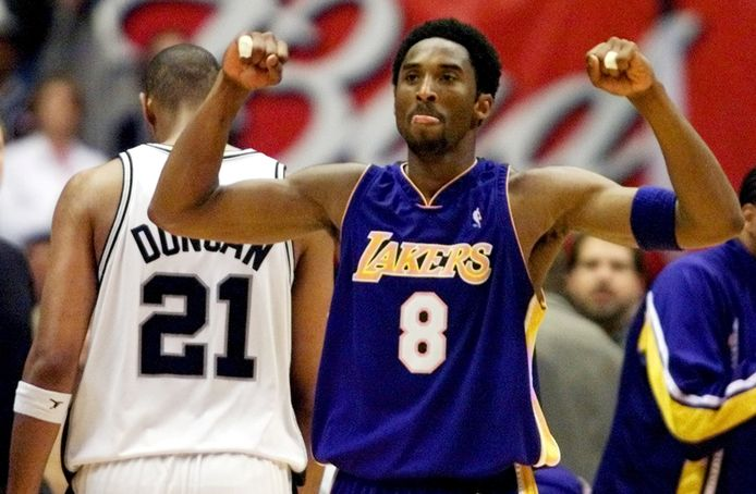 Kobe Bryant en 2001