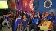 Anderlecht- en Bruggesupporters volgen topper in vrede naast elkaar