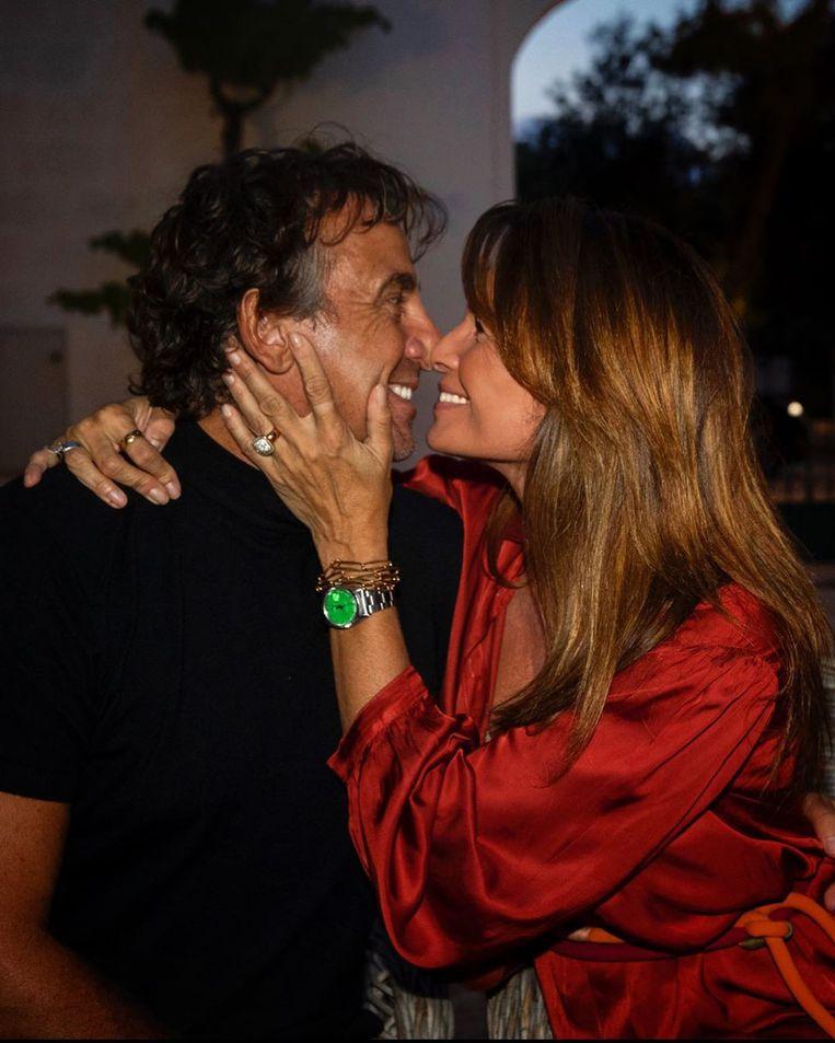 Leontine Borsato en partner Marco