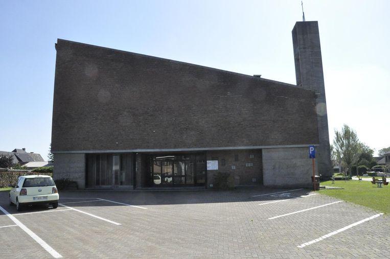 De parochiekerk van 't Kalf verdween vorig jaar onder de sloophamer.