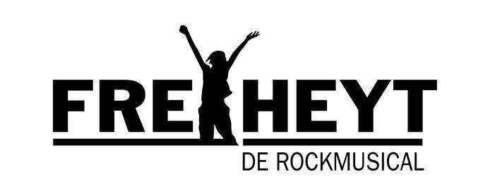 Het logo van de rockmusical.