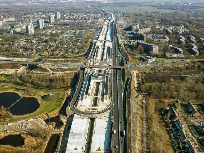 De aanleg van de tunnel begon in 2015.