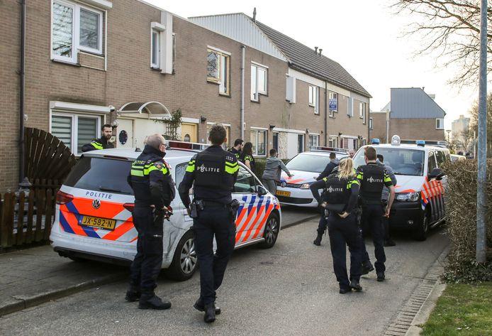 In Stadspolders zijn jongeren aangehouden.