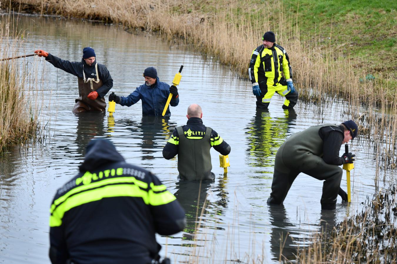 Eerder onderzoek door de politie rond de woning van Nathalie Polak in Buren.