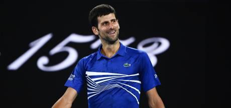 Djokovic zonder setverlies naar derde ronde