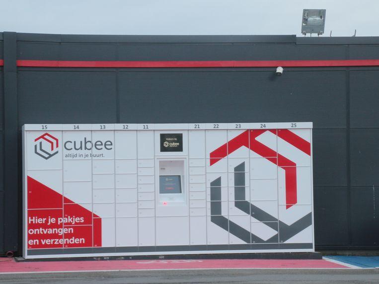 Op de parking van Carrefour Erpe-Mere staat sinds deze week ook een pakjesautomaat van Cubee.