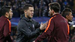 """Hazard met knipoog voor Messi: """"Slecht resultaat, in Camp Nou moet het meer dan perfect zijn"""""""