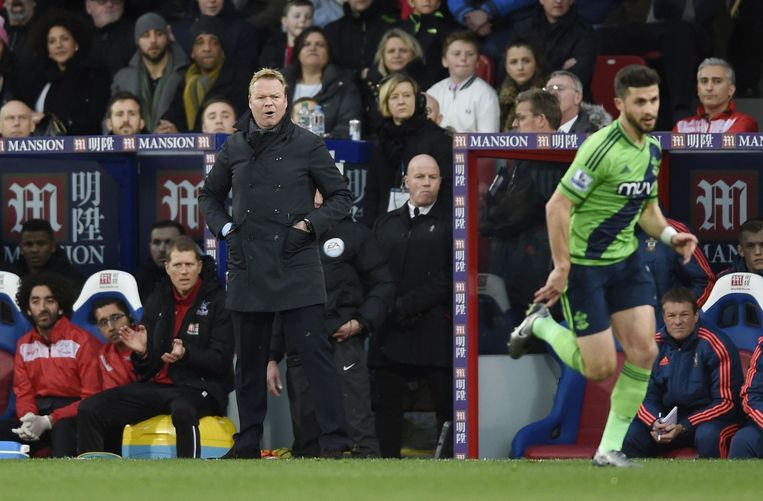 Koeman verliest opnieuw met Southampton. Beeld photo_news