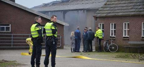 Brand in landbouwschuur Toldijk snel onder controle