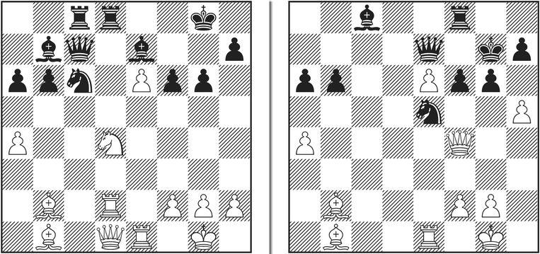 Ding (wit) – So op het Norway Chess-toernooi. Beeld de Volkskrant