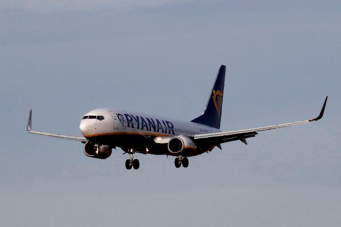 Een 737-toestel van Ryanair