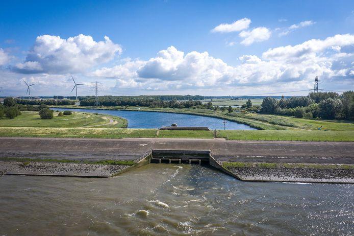 Bathsespuisluis; Bath; 2020; binnendijke en buitendijks; zoetwater naar de westerschelde;
