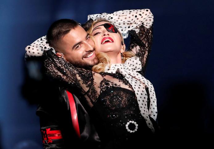 Maluma en Madonna.