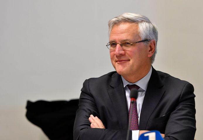 Minister van Werk en CD&V-vicepremier Kris Peeters.