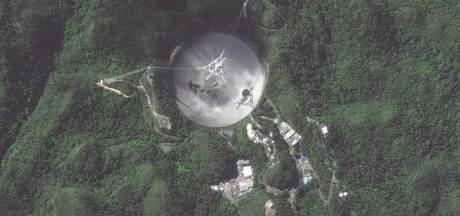 Gigantische telescoop, bekend van Bond-klassieker Goldeneye, ingestort op Puerto Rico