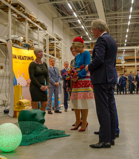 Willem-Alexander en Máxima bezoeken Tholen
