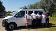 Nieuwe bureelwagen voor politiezone