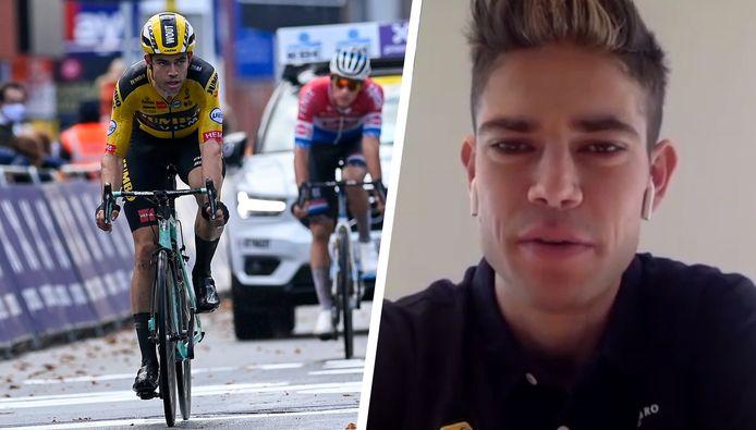 Wout van Aert over Gent-Wevelgem en de Ronde van Vlaanderen.