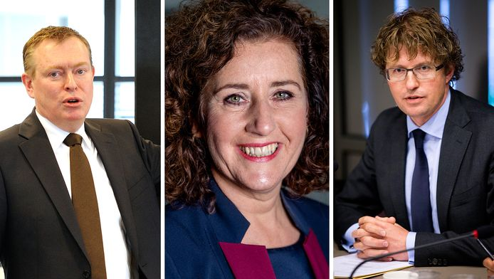 Bruno Bruins, Ingrid van Engelshoven en Sander Dekker