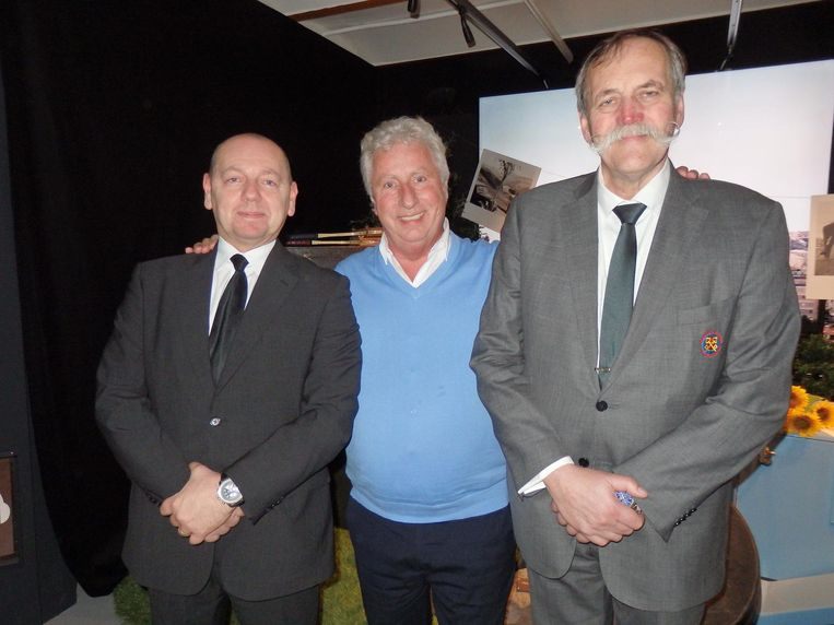 Eddy Zilic (Radisson Blu), Peter van Delden (Van Delden Limousines) en Ben Voogd (voorheen Renaissance Hotel):