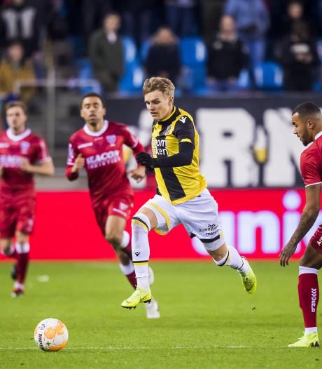 Ødegaard vindt steeds beter zijn weg bij Vitesse
