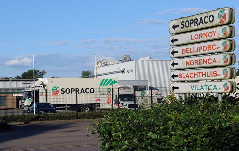 Het ongeval gebeurde op de site van slachthuis Sopraco.