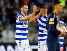 Sleegers mist maatje Van den Boomen: 'Ik hoefde maar te rennen, die bal kwam toch wel'