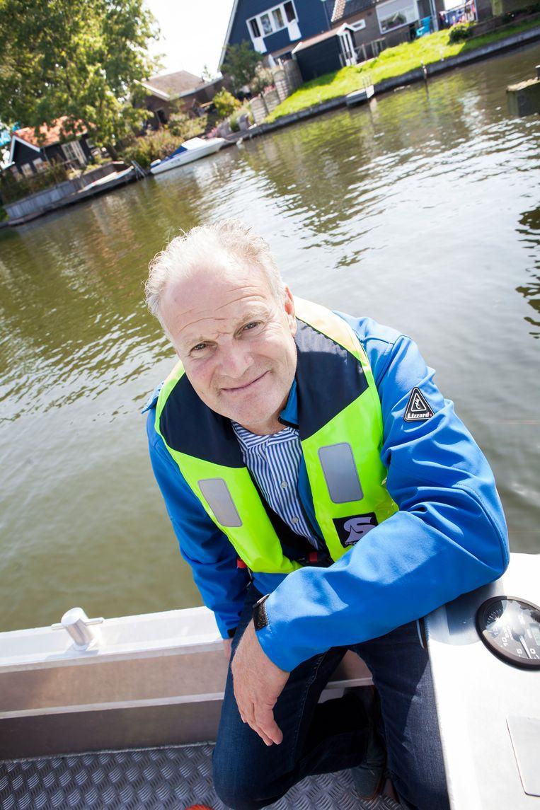 'Alle doelen zijn zo goed als gehaald', zegt Pieter Kruiswijk, veehouder en bestuurder van het waterschap. Beeld Maarten Hartman