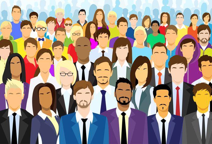 Afbeelding ter illustratie. Veel organisaties kennen nog weinig etnische diversiteit.