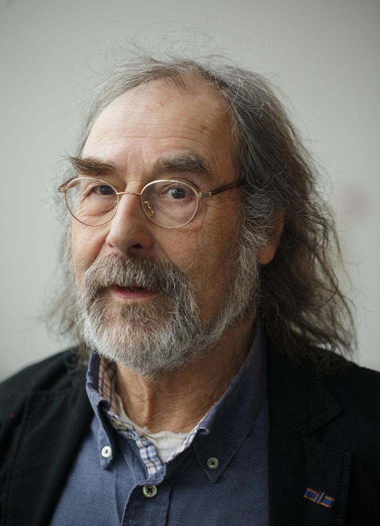 H.U. Jessurun d'Oliveira, oud-hoogleraar migratierecht aan de UvA. Beeld