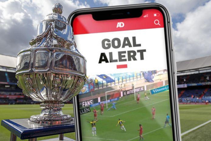 Goal Alert in KNVB-bekertoernooi.
