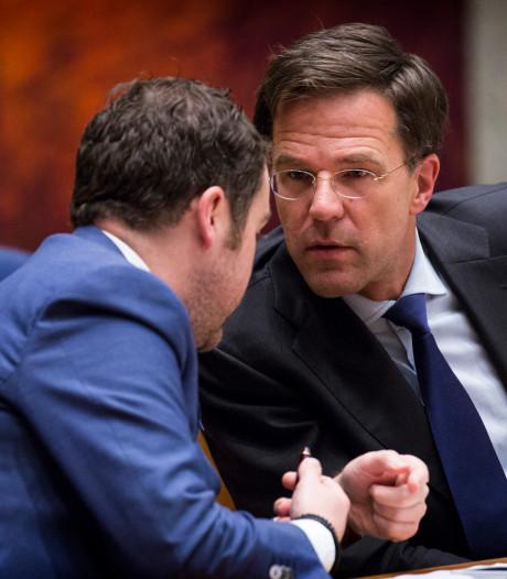 Rutte: Geen vaste troonopvolger bij de VVD, ook Dijkhoff niet
