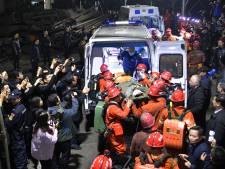 Chinese mijnwerkers zitten vast in mijn na gaslek