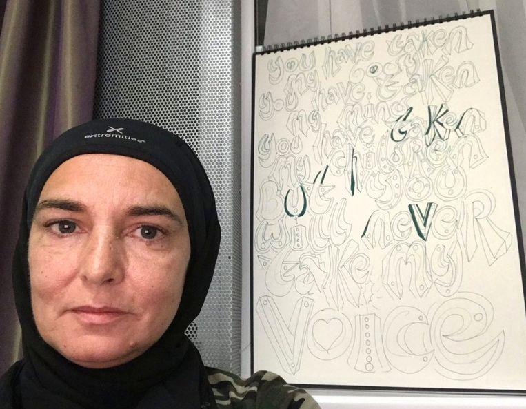 Sinead O'Connor is voortaan een moslima die luistert naar de naam Shuhada' Davitt.