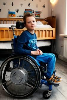 Als Guus (7) een toverstokje had, maakte hij alle kinderen met een spierziekte beter