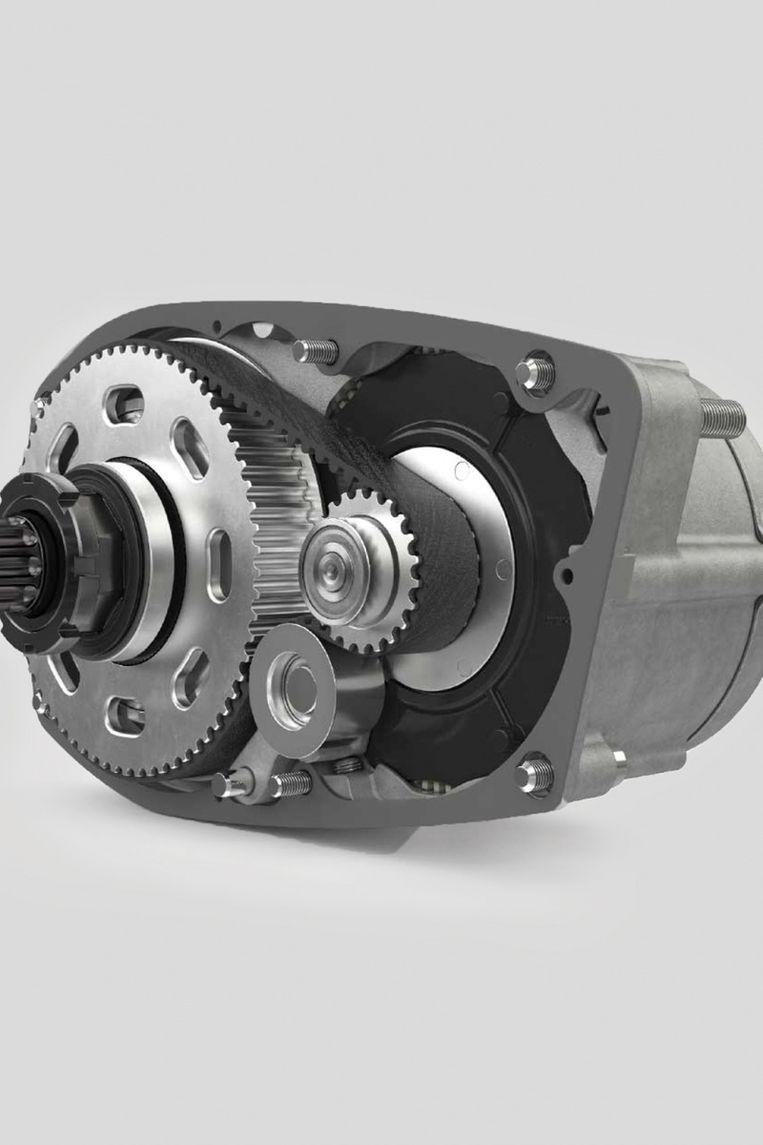 De stille, krachtige Brose-motor, een Duits monstertje met 90 Nm. Beeld