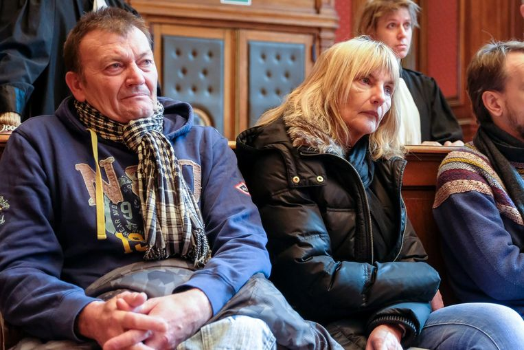 Papa Roland Elseviers en mama Patricia Heymans in de rechtbank.