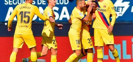 Le FC Barcelone annonce la prolongation de quatre joueurs
