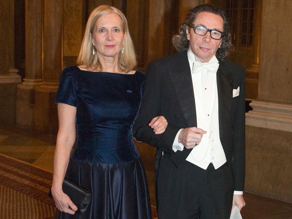 Katarina Frostenson met haar man en fotograaf Jean-Claude Arnault, rond wie het seksschandaal in het Nobelprijscomité draait.