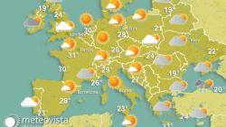 Waarom het hier dit weekend warmer wordt dan in Griekenland en Turkije