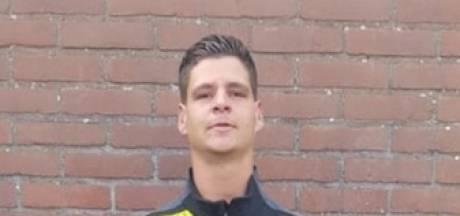 Melvin van den Heuvel maakt historische goal op nieuwe complex SV Meerkerk