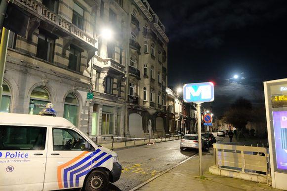 Het incident gebeurde in de Leopold 1-straat.