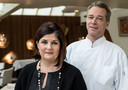 Claudia en Jannis Brevet, gastvrouw en chefkok van Inter Scaldes.