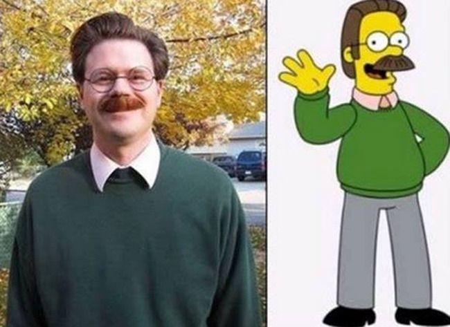 Ned Flanders uit 'The Simpsons'