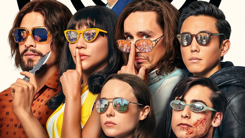 The Umbrella Academy Beeld Netflix