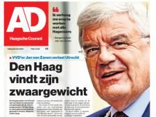AD Haagsche Courant pakt uit met komst van Jan van Zanen naar Den Haag