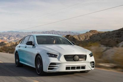Toekomstige Mercedes-Benz E-Klasse laat zich zien