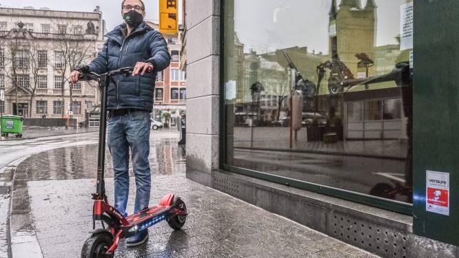 """Eerste winkel met elektrische steps opent in Kortrijk: """"E-steps staan voor vrijheid, je raakt er overal mee"""""""