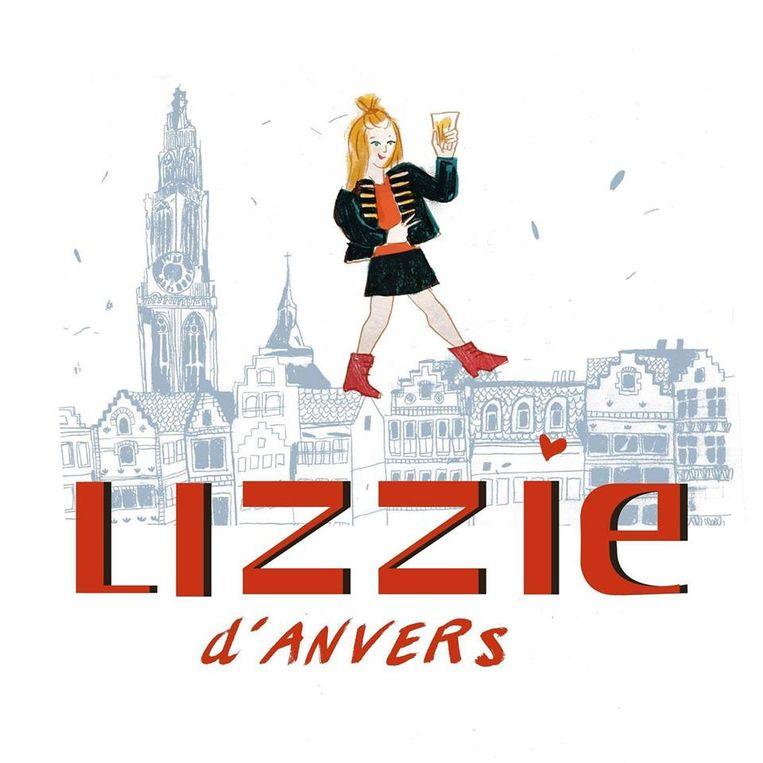 Het etiket van de nieuwe Lizzie d'Anvers.