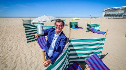 """Je moet dan toch niet altijd reserveren op het strand van Oostende: """"Enkel op de piekdagen, en we zullen de drukte goed monitoren"""""""